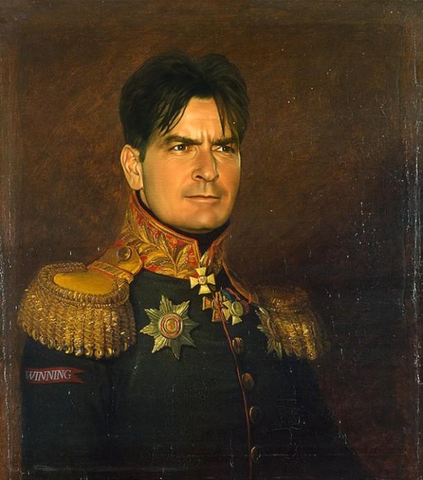 Charlie Sheen general militar steve payne