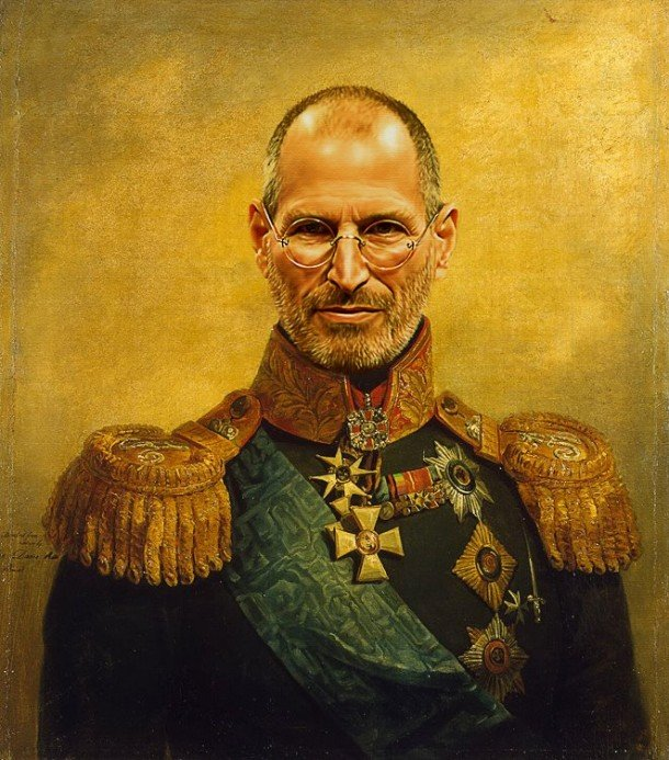 Steve Jobs general militar steve payne