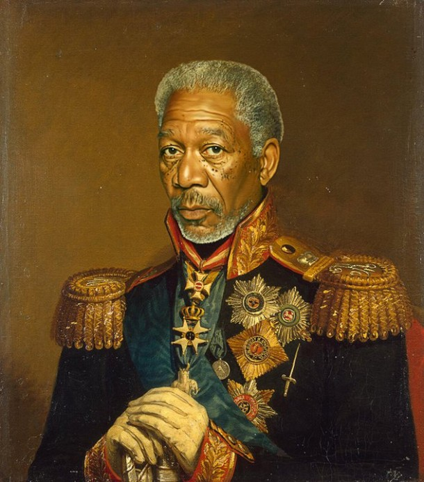 Morgan Freeman general militar steve payne