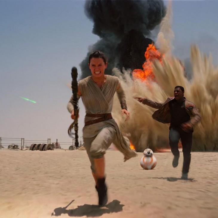 Escena de Star Wars