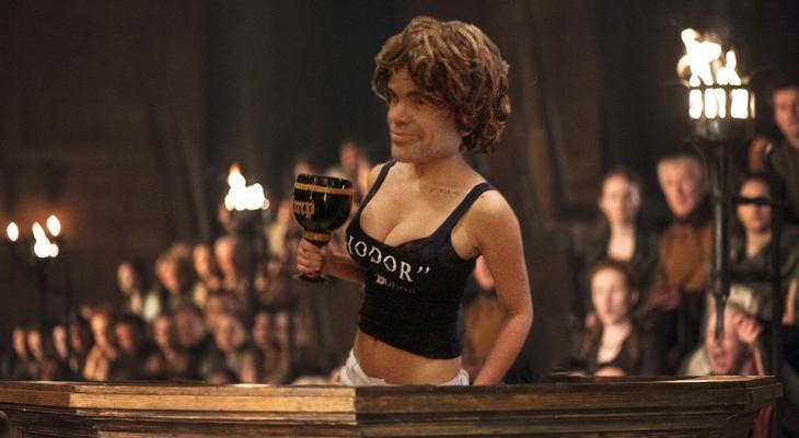 Tyrion con cuerpo de mujer