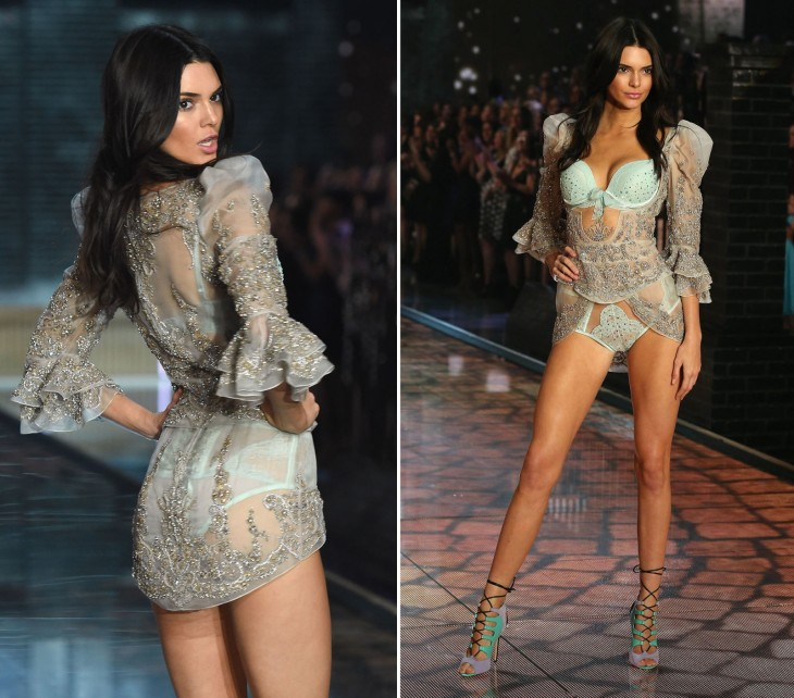 Victoria's secret fashion show desfile jenner