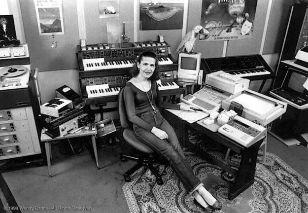 Wendy en estudio de grabación