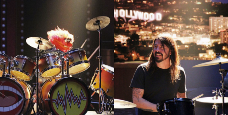 Dave Grohl contra animal