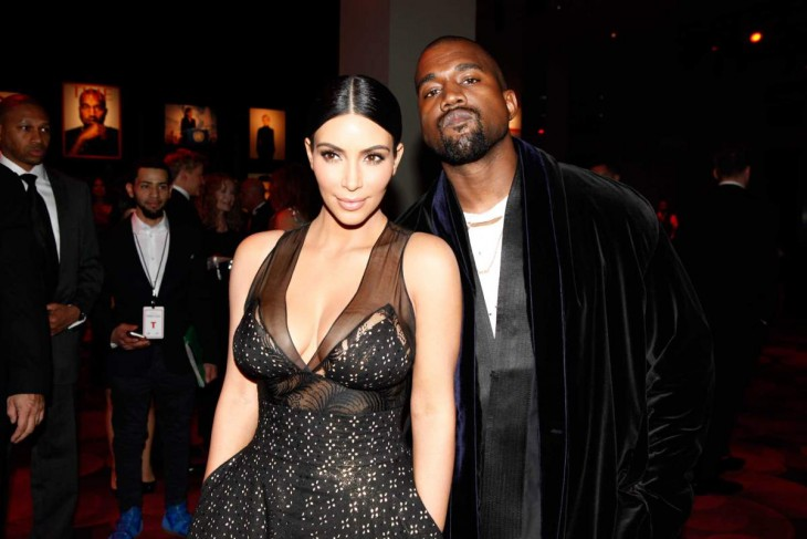 Kim Kardashian y kayne