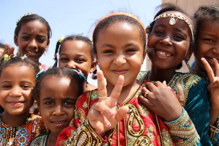 niños de oman