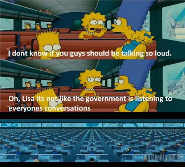 Los Simpson nos espían