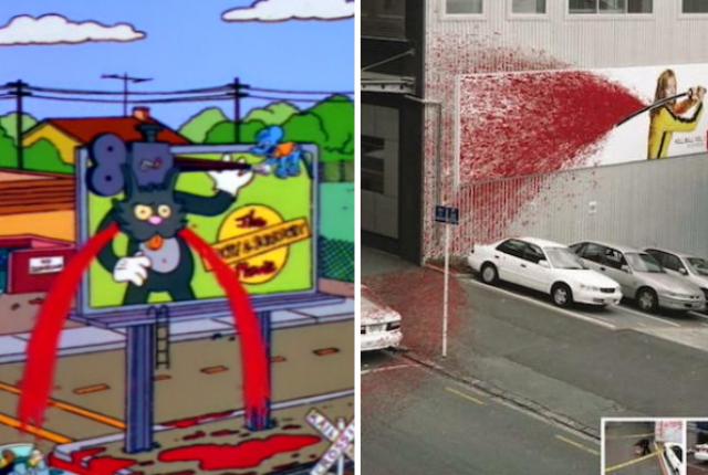 Los Simpson kill bill