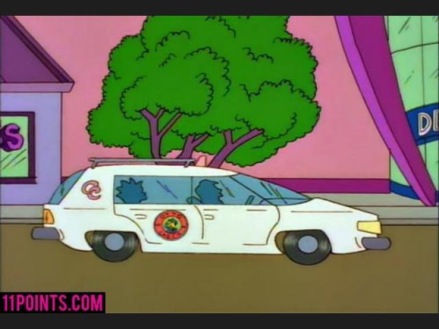 Los Simpson diseño toyota