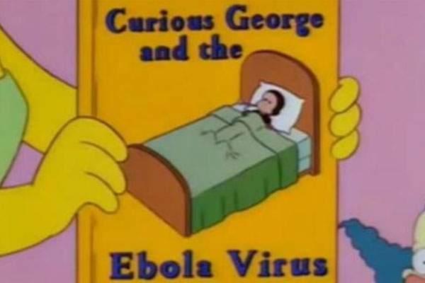 Los Simpson ébola