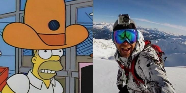 Los Simpson gopro