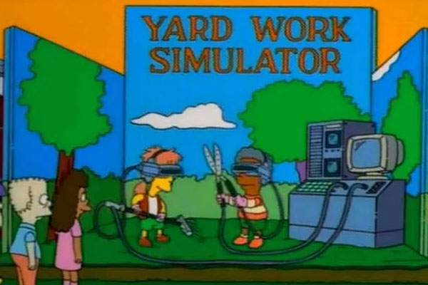 Los Simpson farmville