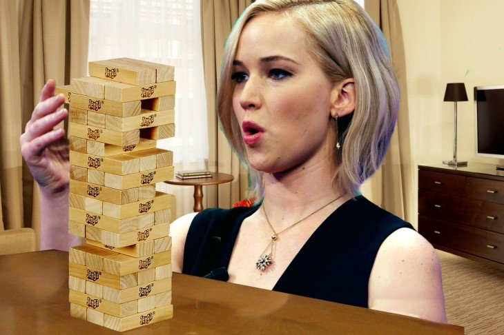 Jennifer Lawrence en batalla de Photoshop