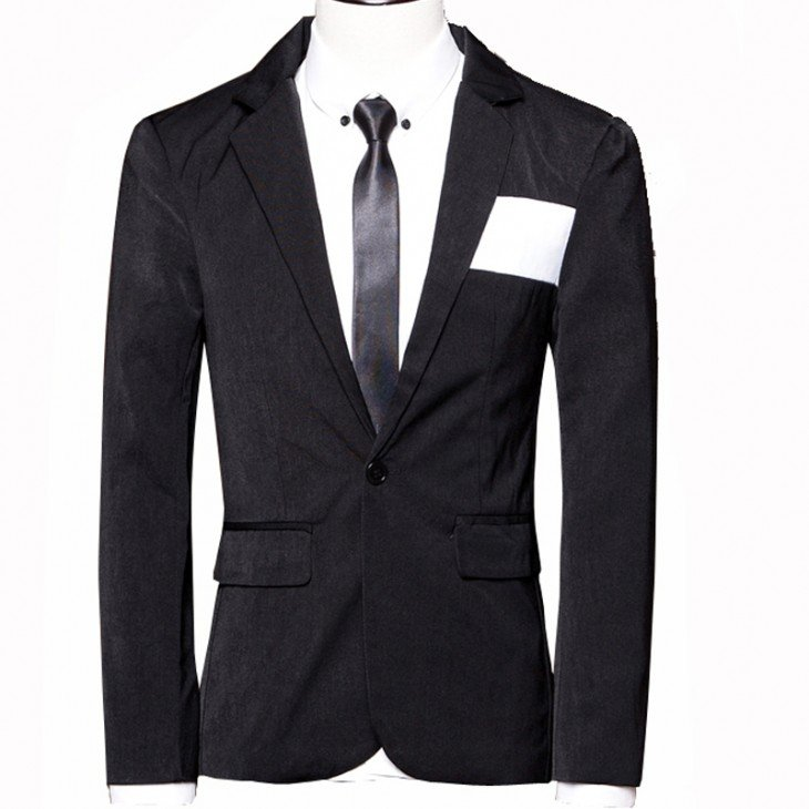 traje de un solo botón siempre debe ir abrochado