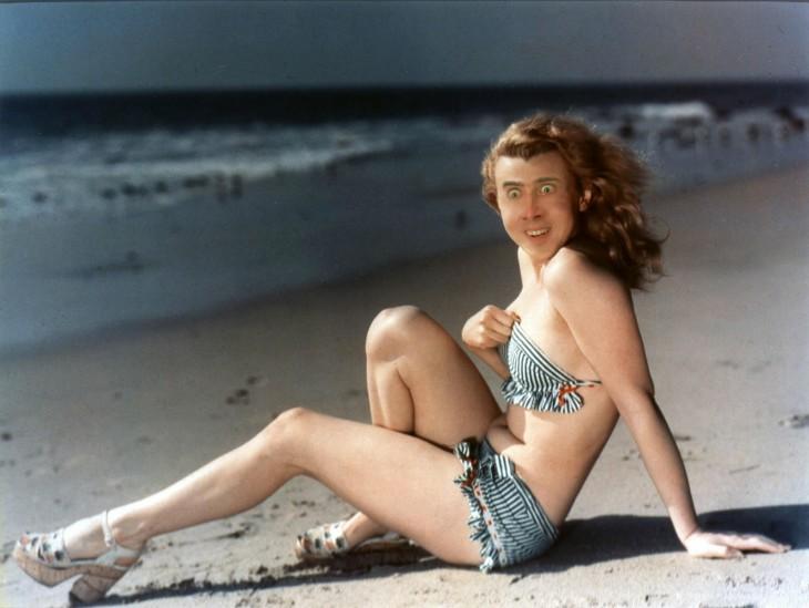 nicolas cage, Photoshop de Marilyn Monroe