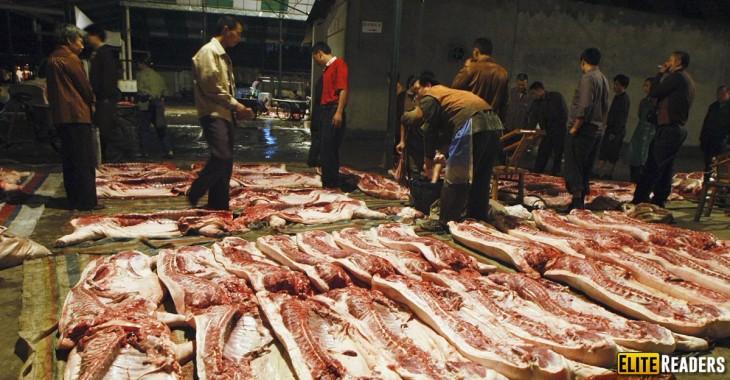 fabrica de carne en China