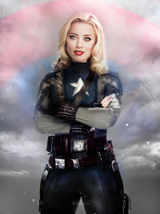 Amber Heard (Captain America)