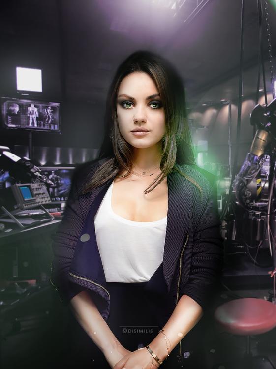 Mila Kunis (Bruce Banner)