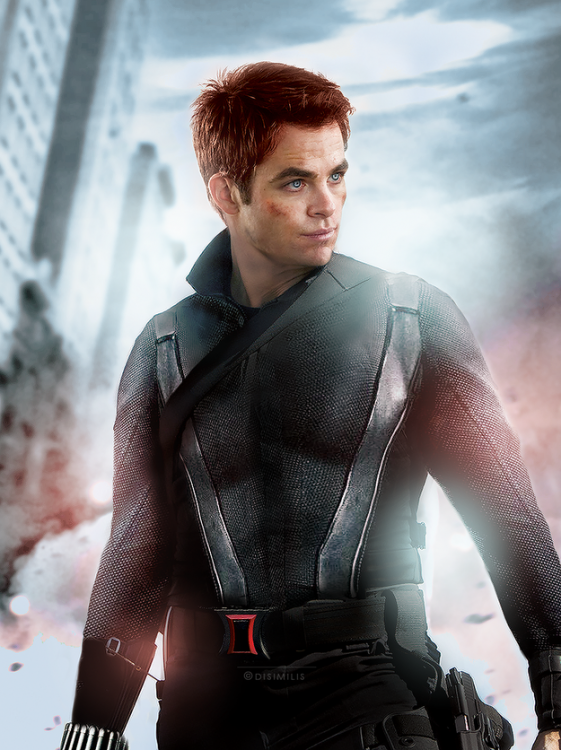 Chris Pine (Black Widow)