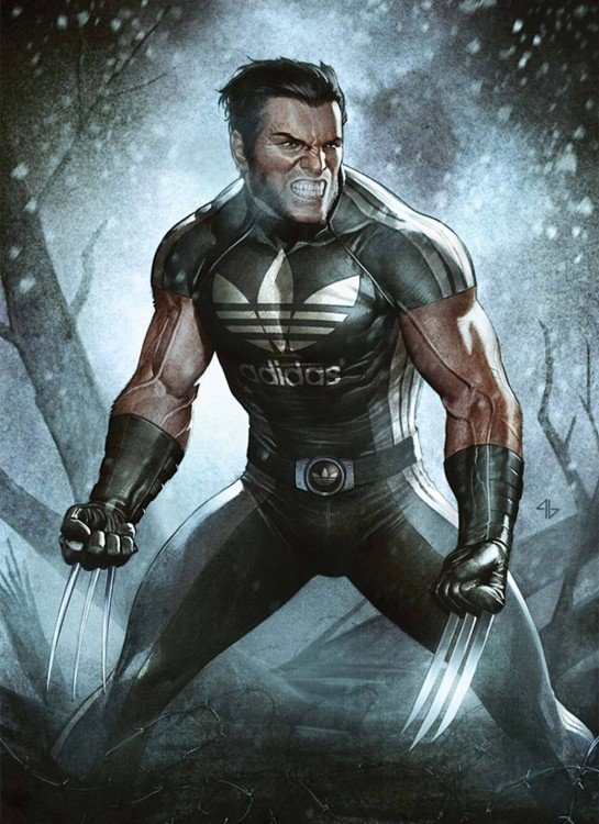 Wolverine, Adidas