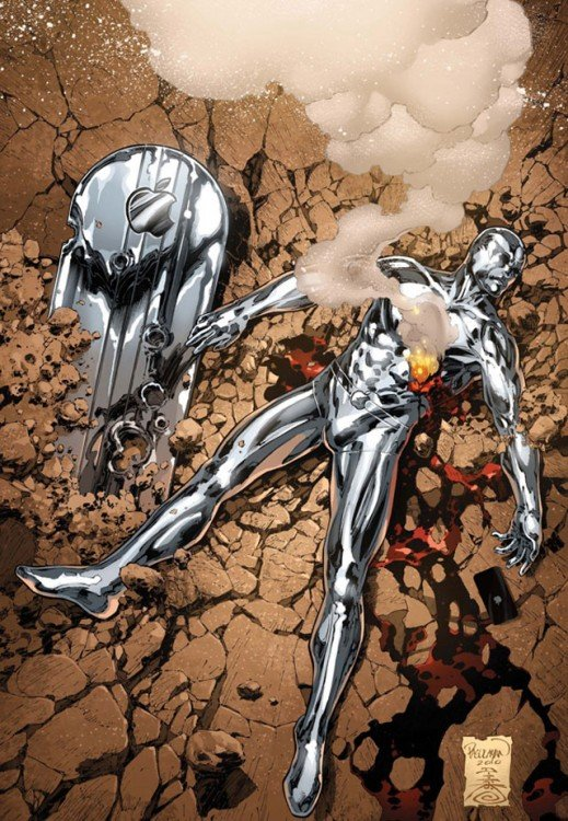 Silver Surfer, Apple