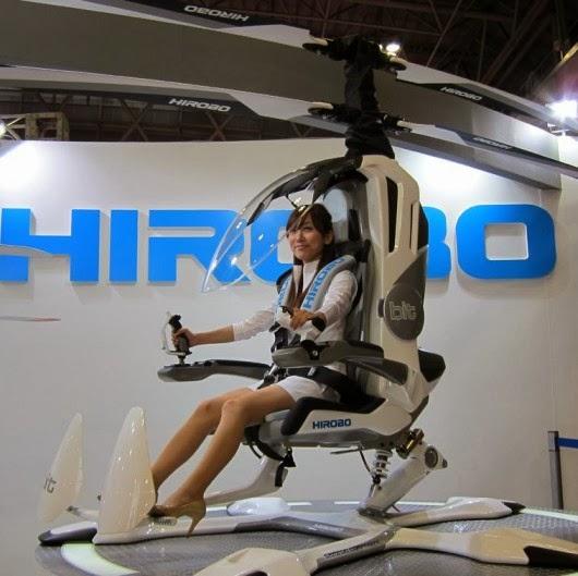 BIT helicóptero individual eléctrico en Japón (1)
