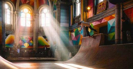 Cover-Este-artista-convirtio-una-antigua-iglesia-en-un-skatepark
