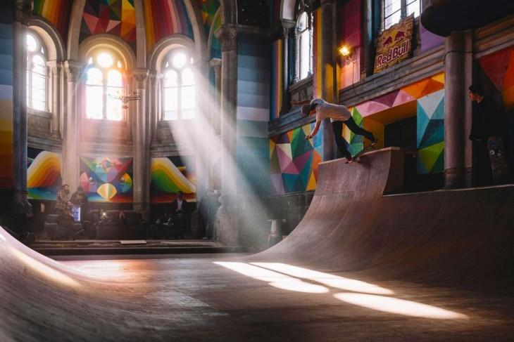 'Iglesa Skate' de Llanera