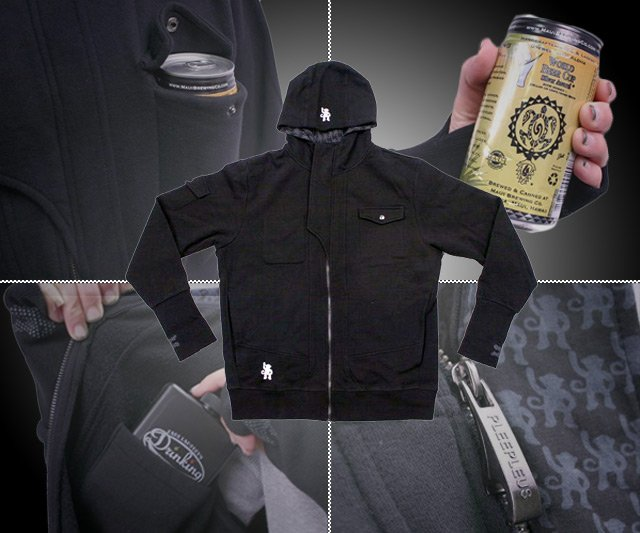 Sudadera DrinkMaster ideal para guardar tu cerveza y bebidas alcohólicas