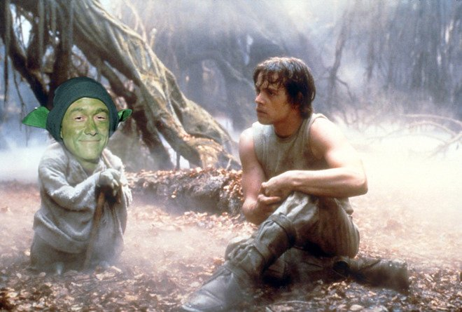 star wars, Joseph Gordon-Levitt Yoda