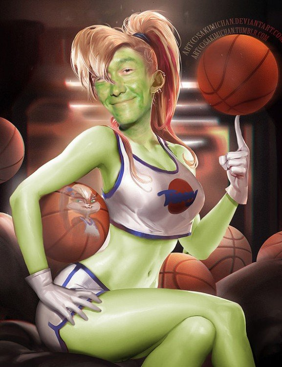 Space Jam, Joseph Gordon-Levitt Yoda