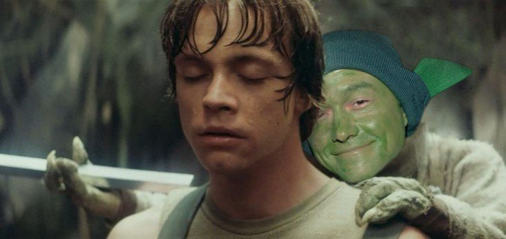 Star wars, Joseph Gordon-Levitt Yoda