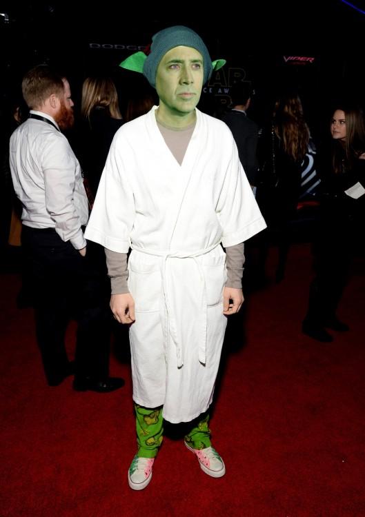Nicolas Cage, Joseph Gordon-Levitt Yoda