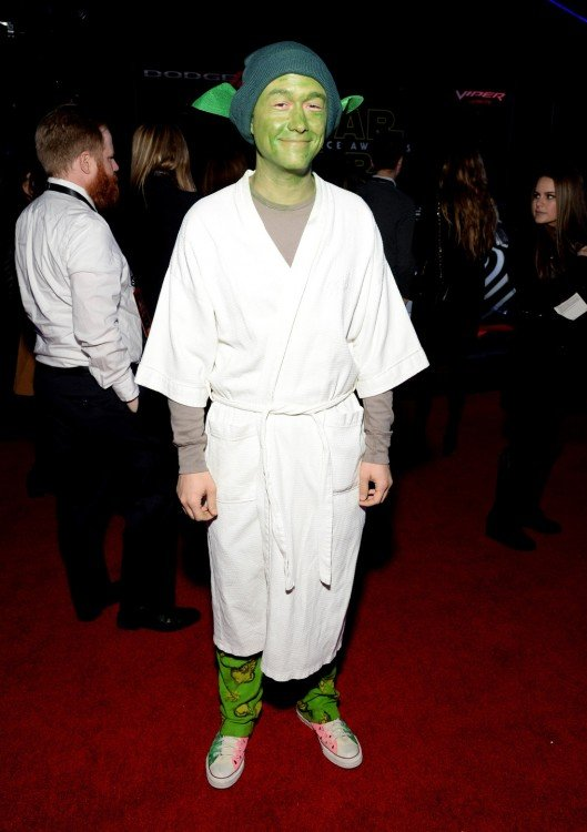 Joseph Gordon-Levitt Yoda, original