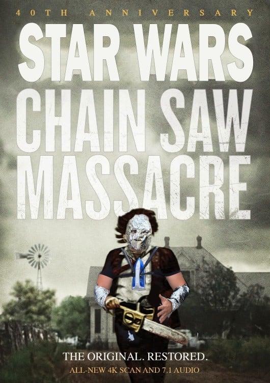 star wars en modo de la masacre de texas