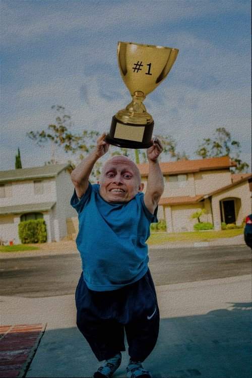 copa#1, Photoshop Vern Troyer