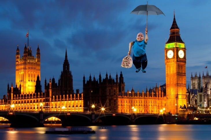 merry poppins, Photoshop Vern Troyer