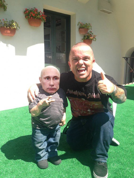 weeeman, Photoshop Vern Troyer