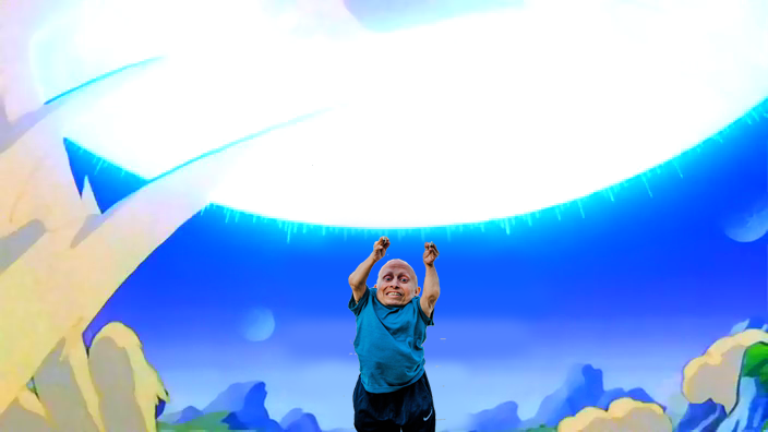 Dragon ball, Photoshop Vern Troyer