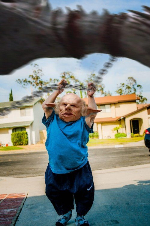 Harry Potter, Photoshop Vern Troyer
