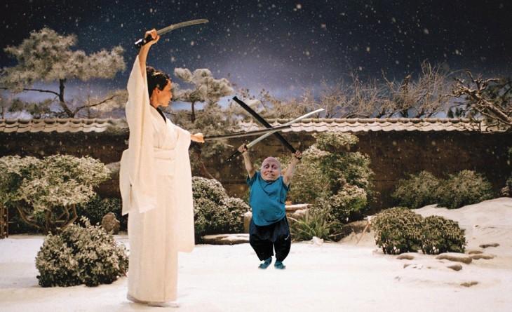 Kill Bill, Photoshop Vern Troyer