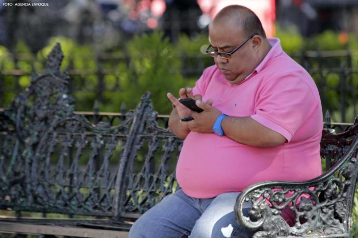 mexicano obeso