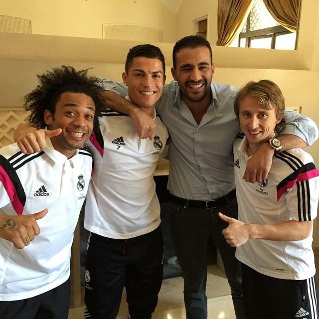 Jugadores del Real Madrid con peleador