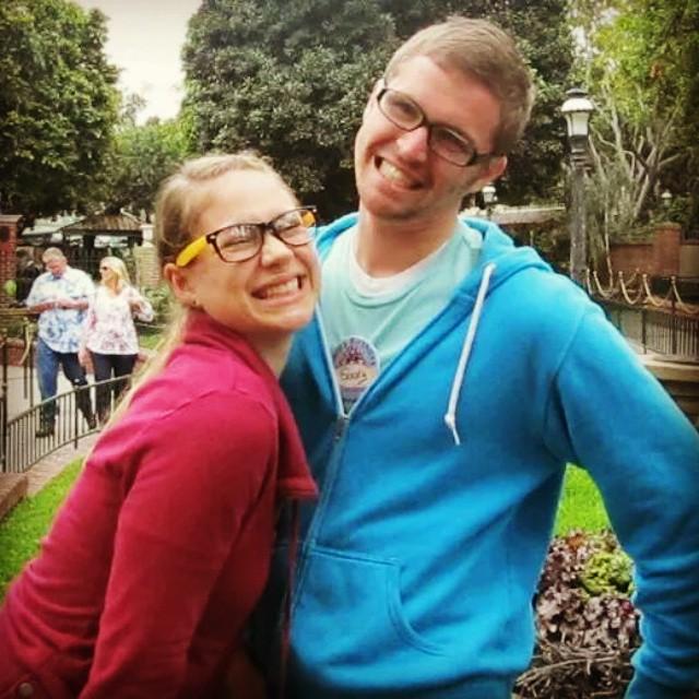 Gordy Yates y su hermana Meredith