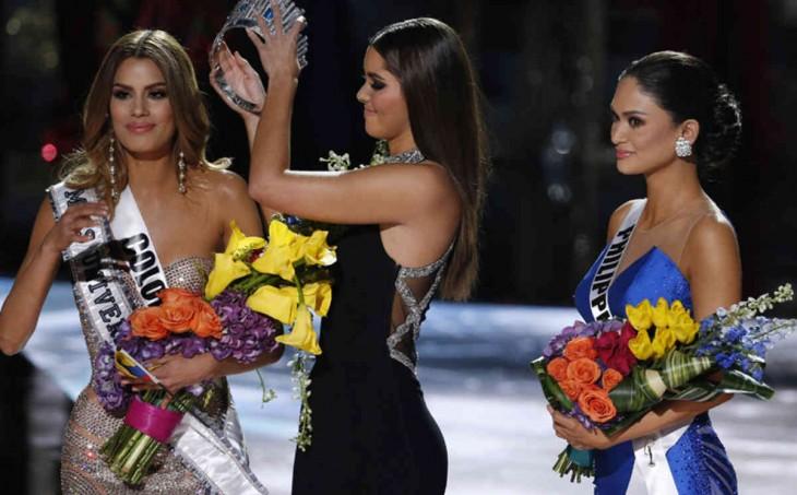 Certamen Miss Universo 2015 error en la coronación de la reina de belleza