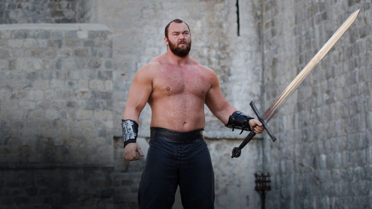The Mountain, de 'Game Of Thrones'