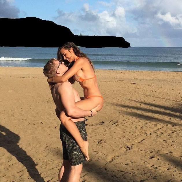 Photoshop para quitar la isla, mancha negra