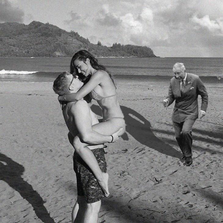 Photoshop para quitar la isla príncipe carlos