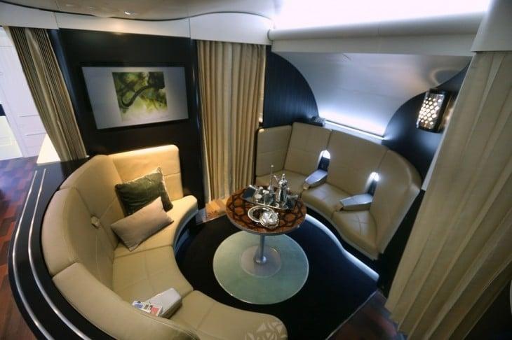 Avión A380 de Etihad Airways