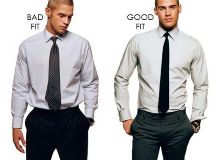Hombres con camisa y corbata